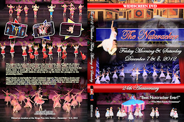 2012 Nutcracker DVD Cover