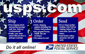USPS Postcard Advertisement