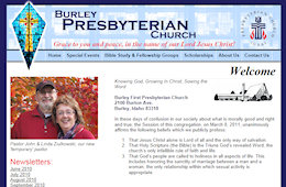 The Burley First Presbyterian Church