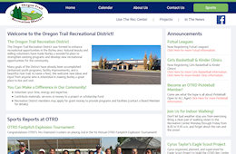 The Oregon Trail Recreation District